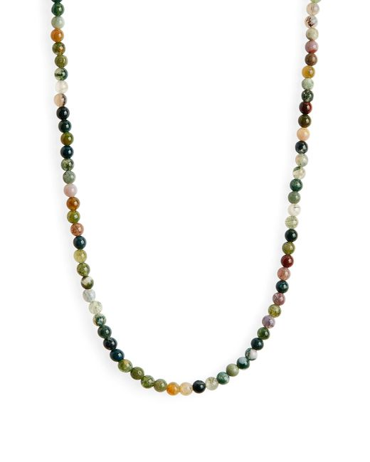 Madewell Multicolor Semiprecious Stone Beaded Necklace