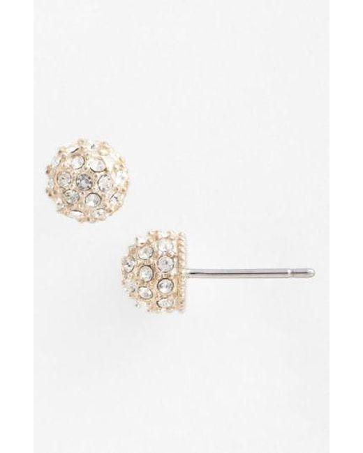 Judith Jack - Metallic Stud Earrings - Lyst