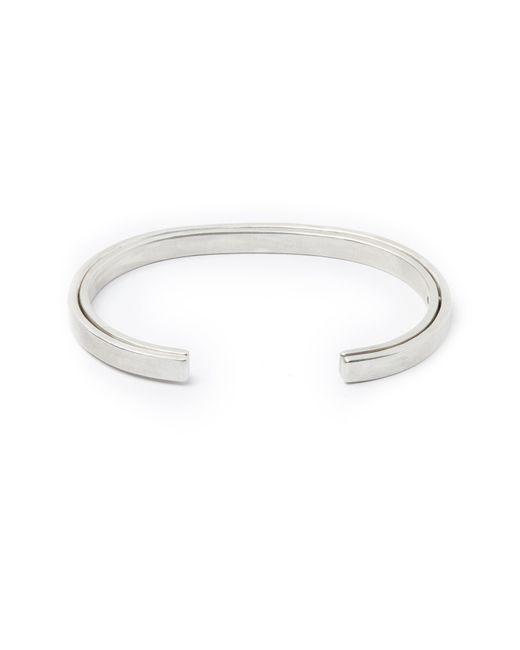 Title Of Work - Metallic Sterling Silver Cuff Bracelet for Men - Lyst