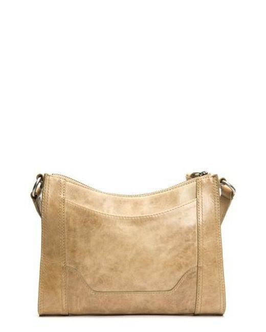 Frye - Natural Melissa Leather Crossbody Bag - Lyst
