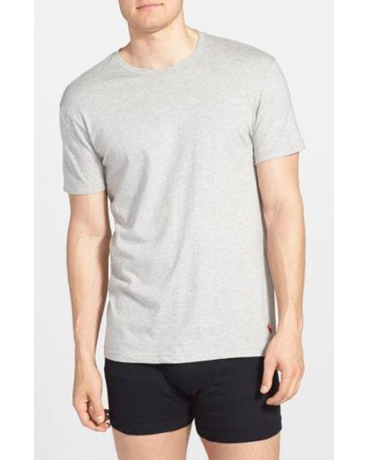 Polo Ralph Lauren   Multicolor Classic Fit Crewneck Cotton T-Shirt, (3-Pack) for Men   Lyst