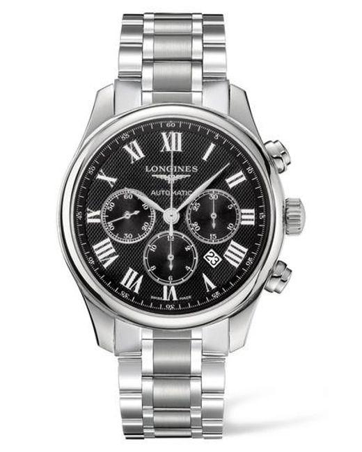 Longines - Metallic Master Automatic Chronograph Bracelet Watch for Men - Lyst