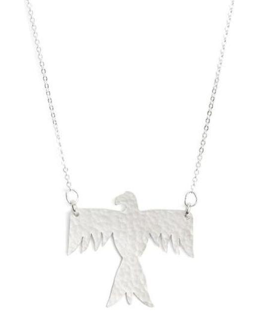Nashelle | Metallic Phoenix Pendant Necklace | Lyst