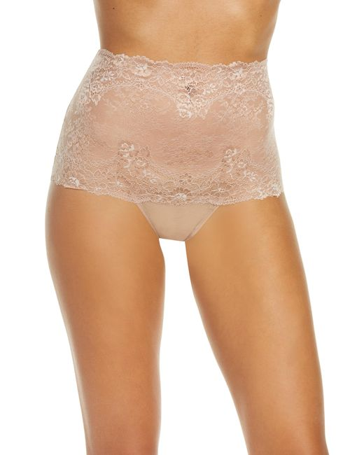 Wacoal Natural Level Up High Waist Lace Thong