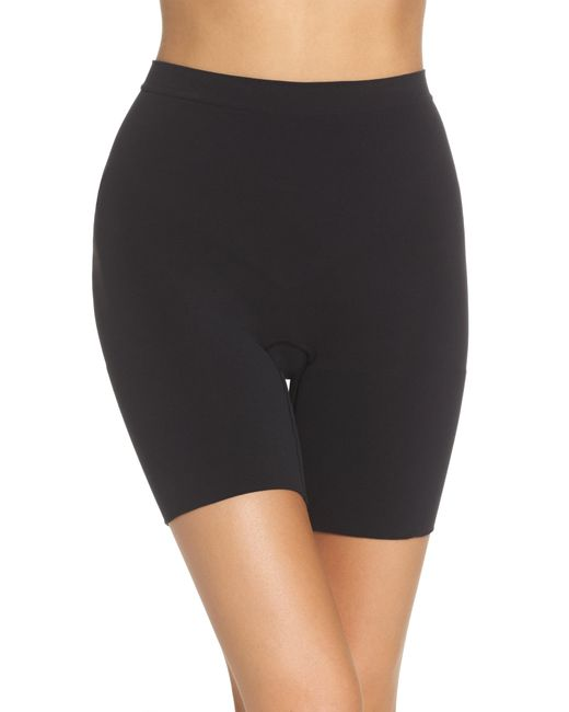 Spanx - Black Spanx Power Short Mid Thigh Shaper - Lyst