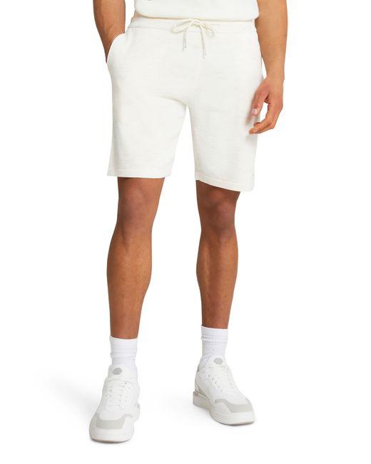 River Island White Woven Shorts for men