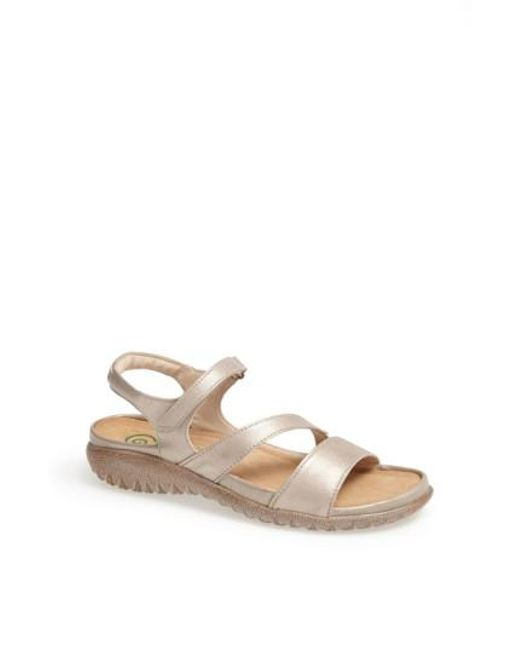 Naot - Natural 'etera' Sandal - Lyst