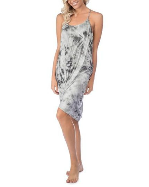 Green Dragon - Gray Crystal Forest Genvieve Cover-up Dress - Lyst