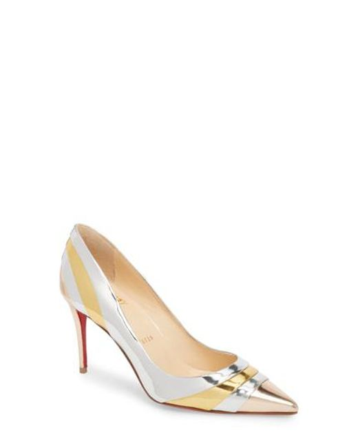 free shipping for nice free shipping real Christian Louboutin Eklectica Pumps outlet locations 3NzOLeAzFn
