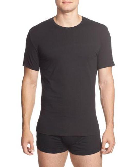 CALVIN KLEIN 205W39NYC - 2-pack Stretch Cotton Crewneck T-shirt, Black for Men - Lyst