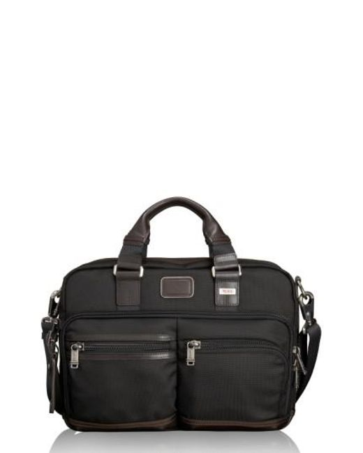 Tumi | Brown 'alpha Bravo - Anderson' Commuter Briefcase for Men | Lyst