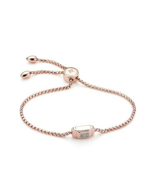 Monica Vinader | Metallic Baja Deco Friendship Bracelet | Lyst