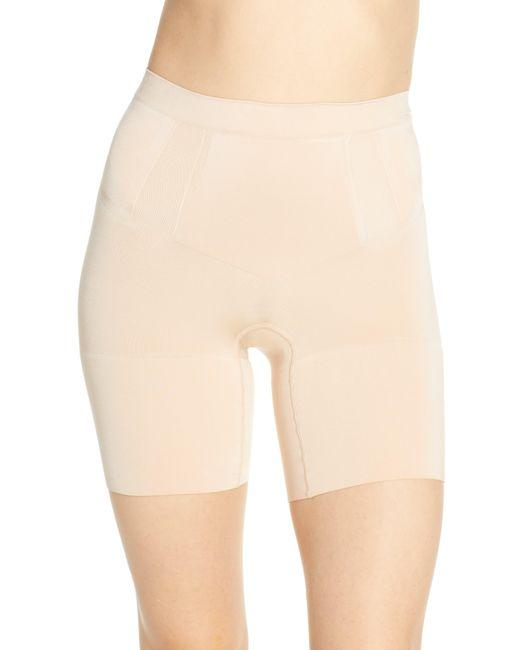 Spanx Black Spanx Oncore Mid Thigh Shorts