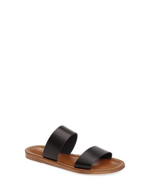 Bella Vita   Black Imo Slide Sandal   Lyst
