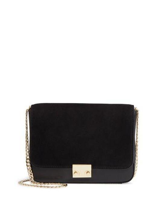 Loeffler Randall | Black Lock Shoulder Bag | Lyst