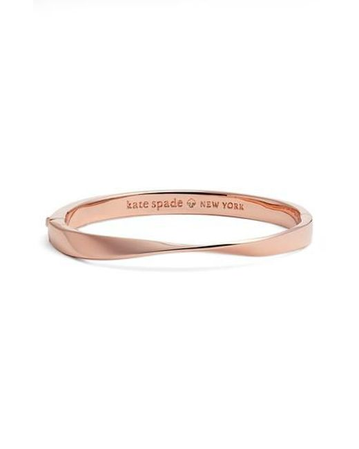 Kate Spade - Multicolor Do The Twist Hinge Bangle - Lyst