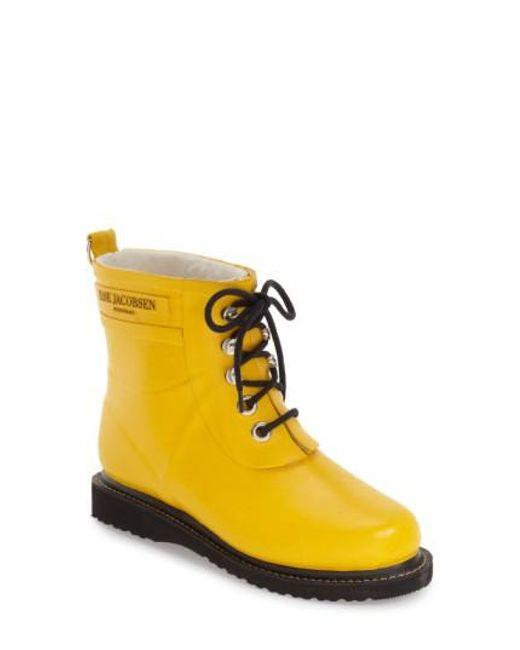 Ilse Jacobsen - Green Hornb K 'rub' Boot - Lyst