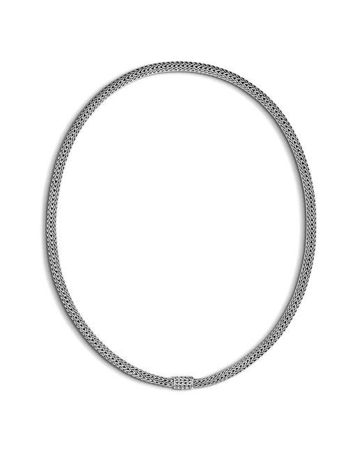 John Hardy - Metallic Extra-small Chain Necklace - Lyst