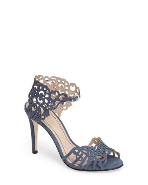Klub Nico | Pink 'moxie' Laser Cutout Sandal | Lyst