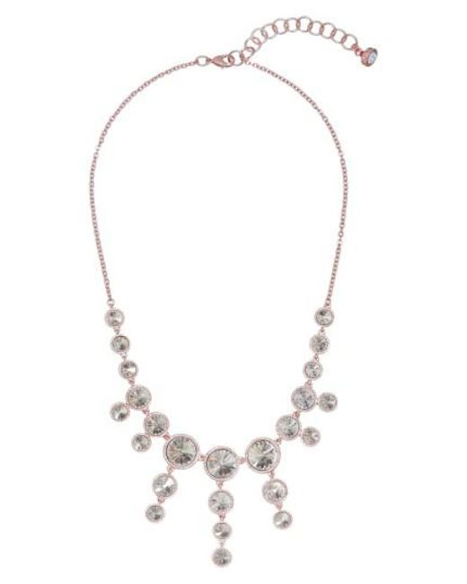 Ted Baker   Metallic Rani Crystal Statement Necklace   Lyst