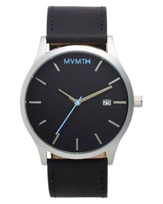 MVMT | Metallic Leather Strap Watch for Men | Lyst