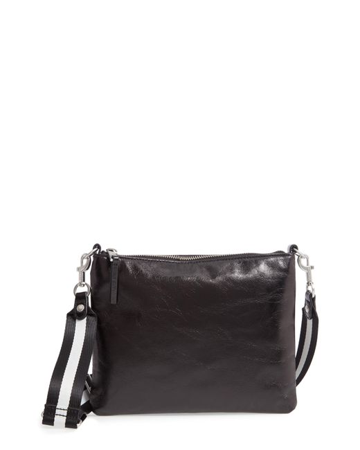 Treasure & Bond - Black Mackenzie Leather Crossbody Bag - Purple - Lyst