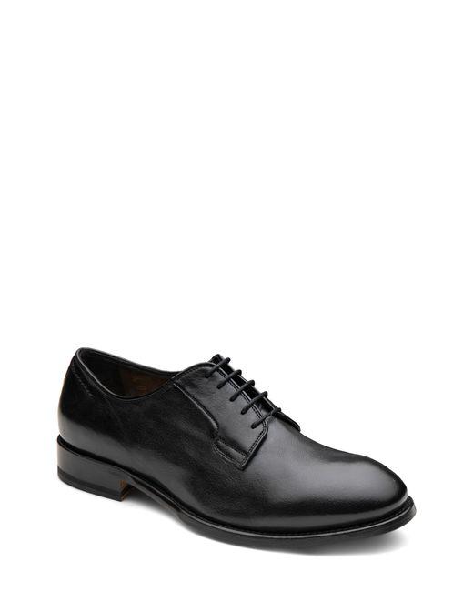 Gordon Rush Black Plain Toe Derby for men