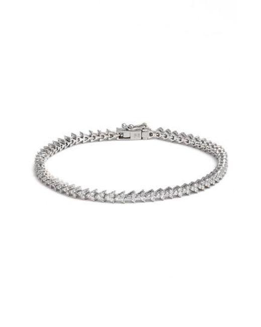 Bony Levy - Metallic Liora Diamond Tennis Bracelet - Lyst