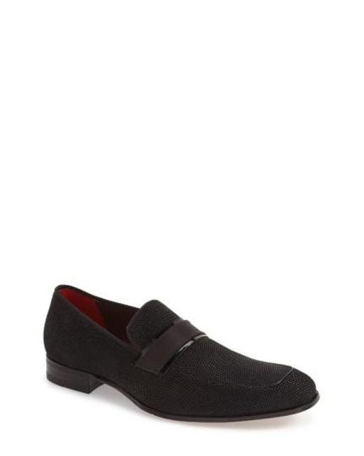 Mezlan | Black 'capizzi' Venetian Loafer for Men | Lyst