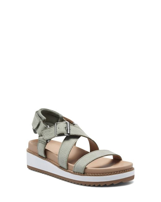 Lucky Brand Multicolor Idenia Wedge Sandal