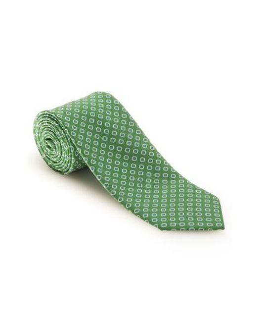 Robert Talbott | Green Medallion Silk Tie for Men | Lyst