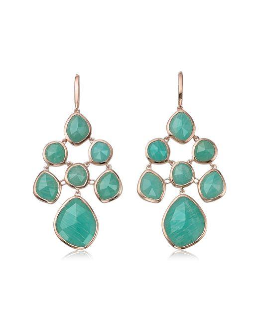 Monica Vinader - Blue Siren Semiprecious Chandelier Drop Earrings - Lyst