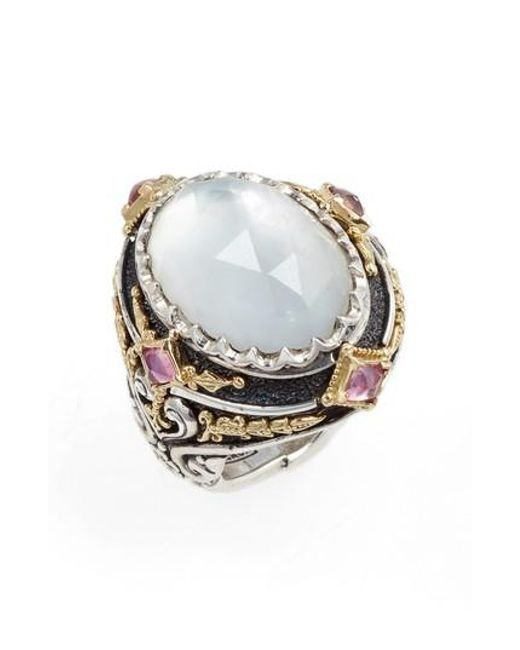 Konstantino | Multicolor Nemesis Mother Of Pearl Ring | Lyst