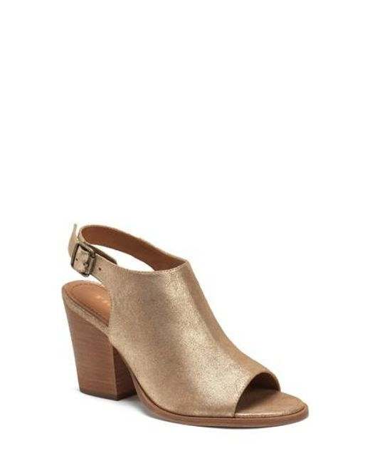 Trask | Metallic Parker Sandal | Lyst