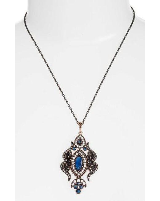 SAREH NOURI | Metallic Sareh Nouri Kiana Jewel Pendant Necklace | Lyst