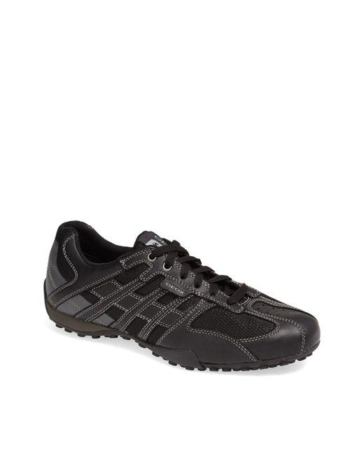 Geox - Black 'snake 95' Sneaker for Men - Lyst