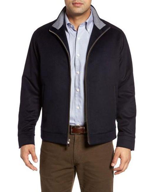 Peter Millar   Blue Westport Wool & Cashmere Jacket for Men   Lyst