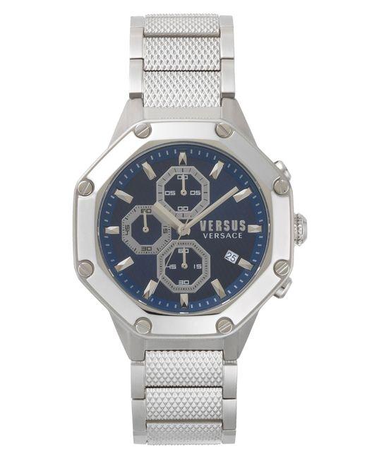 Versus  - Metallic Versus By Versace Kowloon Chronograph Bracelet Watch for Men - Lyst