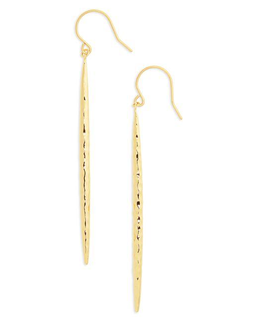 Gorjana Metallic Nora Linear Earrings