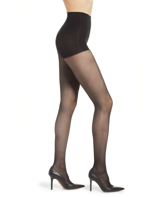 DKNY Purple Light Opaque Control Top Tights