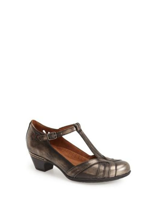 Cobb Hill - Angelina Metallic-Leather Pumps - Lyst