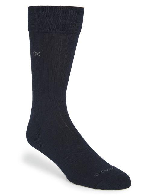 Calvin Klein Blue 'ultra Fit' Socks for men