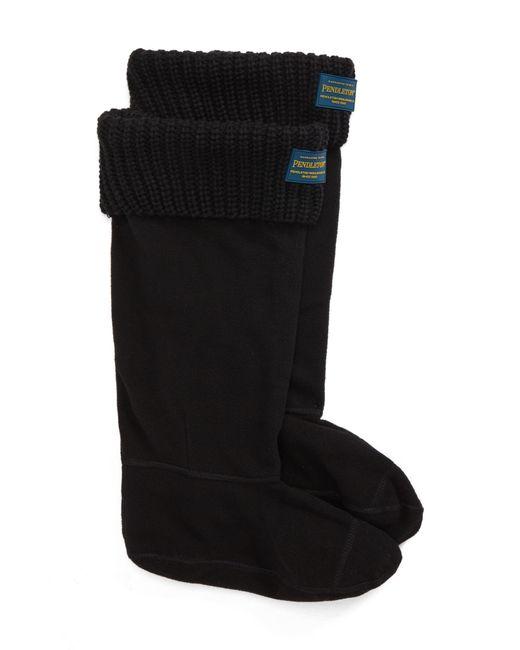PENDLETON BOOT - Black Pendleton Shaker Stitch Tall Boot Socks - Lyst