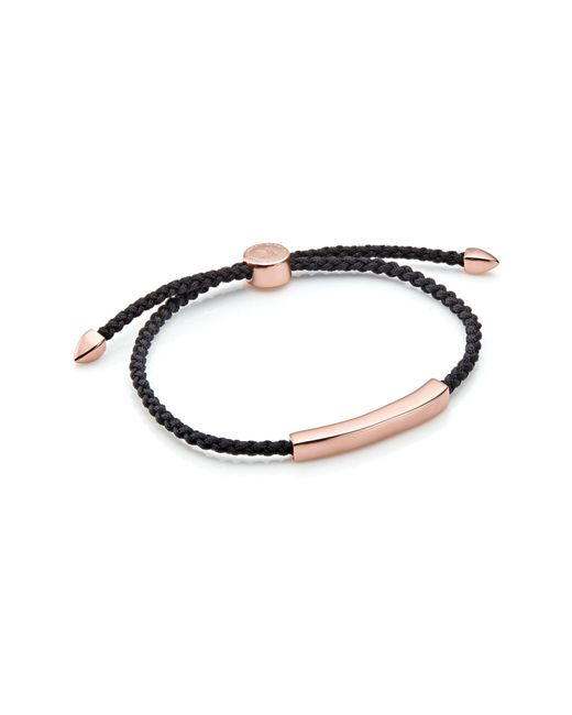 Monica Vinader - Metallic Engravable Havana Men's Friendship Bracelet - Lyst