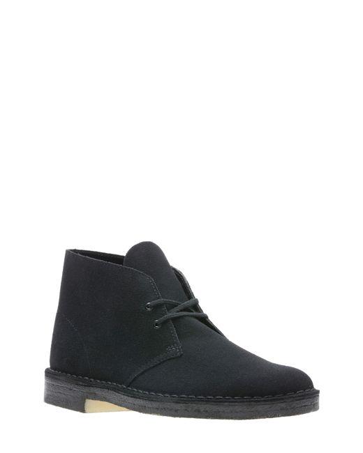 Clarks Black Originals Desert Boot for men