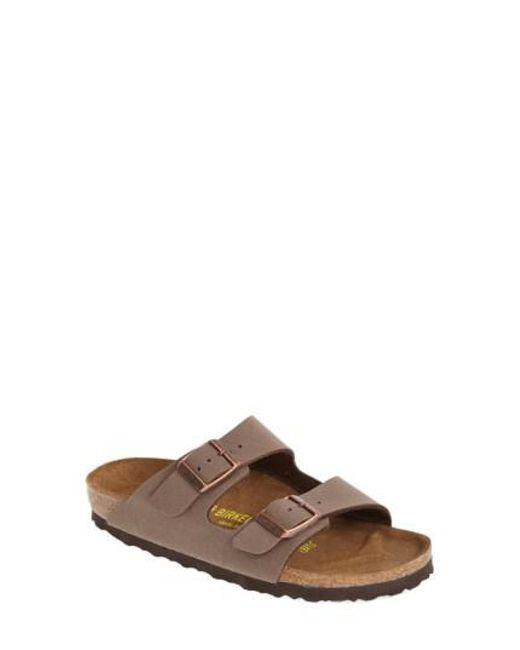 Birkenstock | Brown Arizona Birko-flor Sandal | Lyst