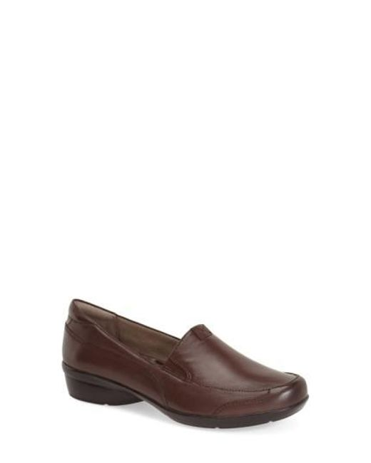Naturalizer | Brown 'channing' Loafer | Lyst