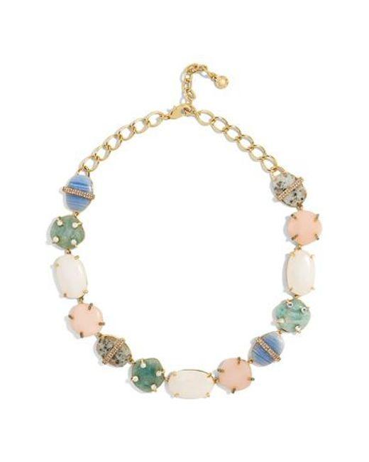 BaubleBar | Metallic Avianna Collar Necklace | Lyst