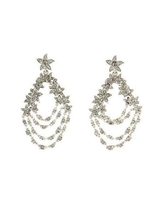 Oscar de la Renta - Metallic Starfish Drop Earrings - Lyst