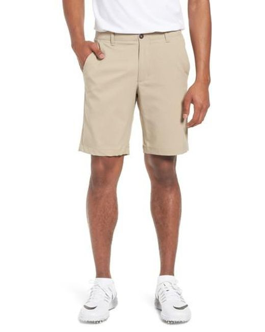 Under Armour - Natural Takeover Regular Fit Golf Shorts for Men - Lyst